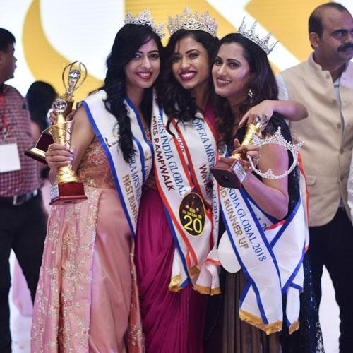Pupul Bhuyan after winning the Opera Global India title